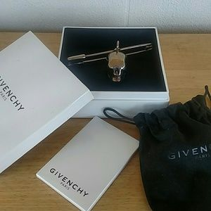 Givenchy Other - Givenchy Skull Safety Pin Brass Made in ITALY